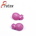 Púrpura piña Shank botones de prendas de vestir o decoración