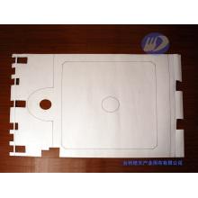 Прессованный пластинчатый фильтр с полипропиленовым иглопробивным материалом