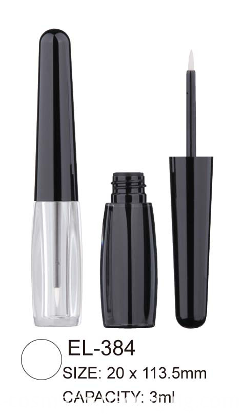 Cosmetic eyeliner bottle