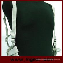 Neue hochwertige verstellbare militärische taktische Schulter Pistole Pistole Holster Magazintasche mit Klett-Verschluss 6 Farben