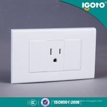 Igoto American Standard Receptacle Elektrische 3 Pin Wandsteckdose