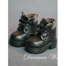 Sapatos de bota de tornozelo 1/6 para boneca com articulação esférica YSD