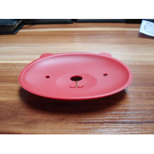 Silicone Face Shape Soap Mat Soap Holder for Bathroom