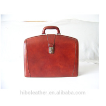 2018 Fashion and luxury women and men genuine leather briefcase