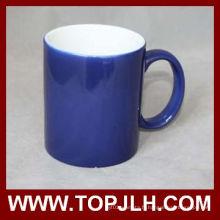 Vente chaude 11oz Sublimation couleur changement tasses en céramique