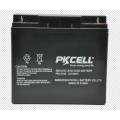 Batería de plomo sellada MF al por mayor de PKCELL 12V 18Ah para la vespa / UPS