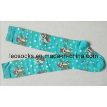 Dame / Frauen-Art- und Weisestrumpf-Socken