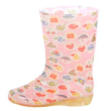 Middle Women's Lovely Pvc Rain Boots