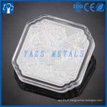 Monnaie personnalisée en aluminium