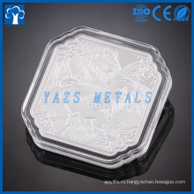 изготовленный на заказ металл Алюминиевый монета