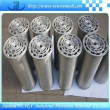 Elemento de filtro de aço inoxidável 316