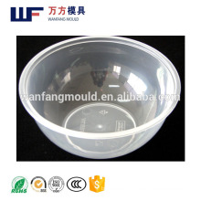 China supply quality products plastic injection thin wall bowl mould/OEM Custom thin wall plastic bowl mold made in Taizhou