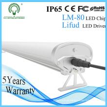 1500mm 60W alumínio Habitação LED Tri-Proof luz independente