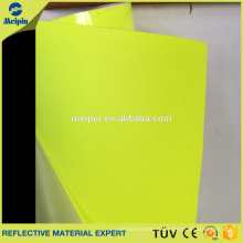 Wholesale Good Price High Visibility Reflective PU Fabric for Garment and Shoes