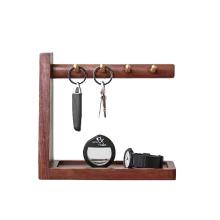 Hanging Entryway Wood Floating Shelf Accessories Storage