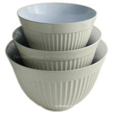 Два тонных чашки для салата из меламина