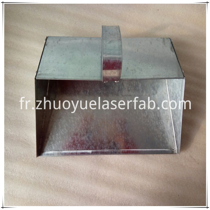 Galvanized Metal Dustpan