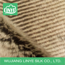 elegant faux fur fabric for sofa cover/ blanket/garment wholesale