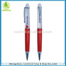 Пользовательские рекламных жидкого плавающей ручка с 3D поплавок