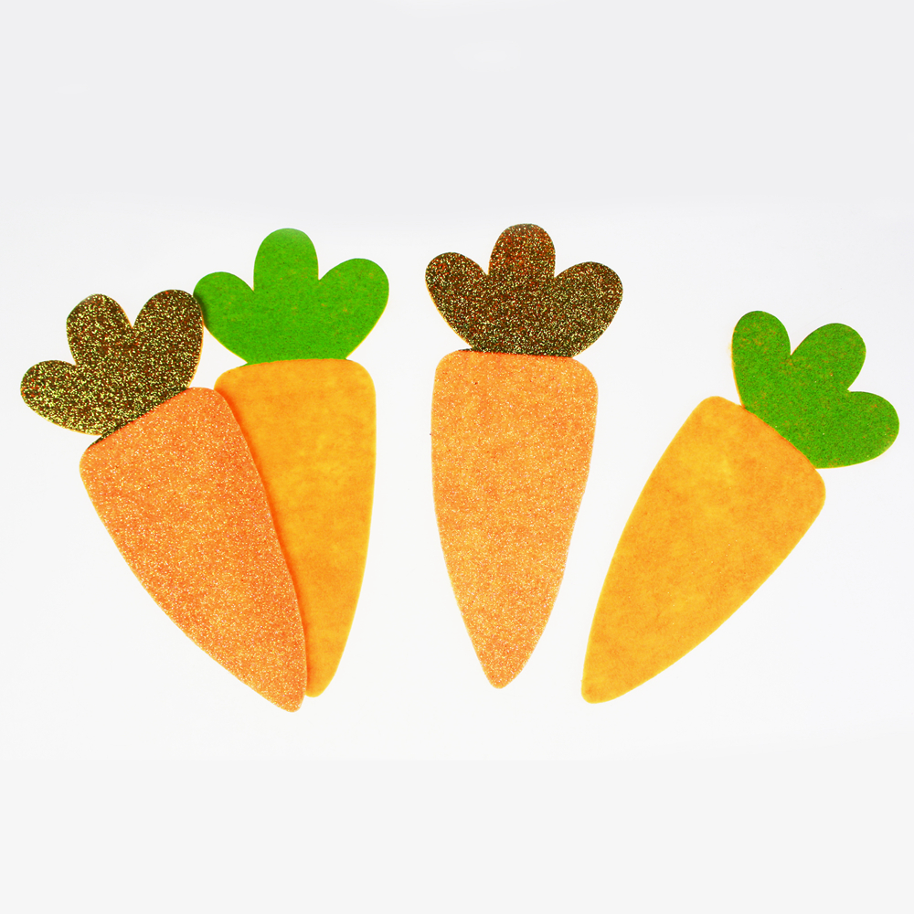 Felt carrot for Rabbit