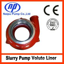 Slurry Pump Parts High Chrome Volute Liner 110