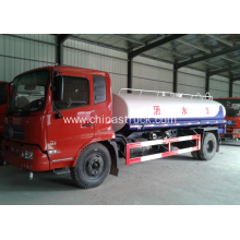 Dongfeng 10m3 water tanker for road sprinkle