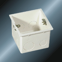 Caixa de saída de acessórios elétricos isolantes de PVC