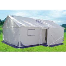 Военные палатки в гарнизонной пастырской территории