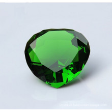 High Quality Green Crystal Glass Diamond for Craft