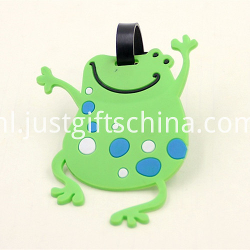 Promotional Cartoon Shaped Luggage Tags 2