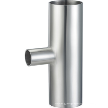 Stainless Steel 304 316L 3A Sanitary Reducing Welded Tee