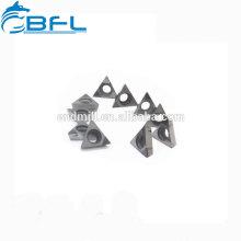 Inserts en carbure de tungstène BFL Inserts en carbure de triangle Tri-Cut Cut Inserts