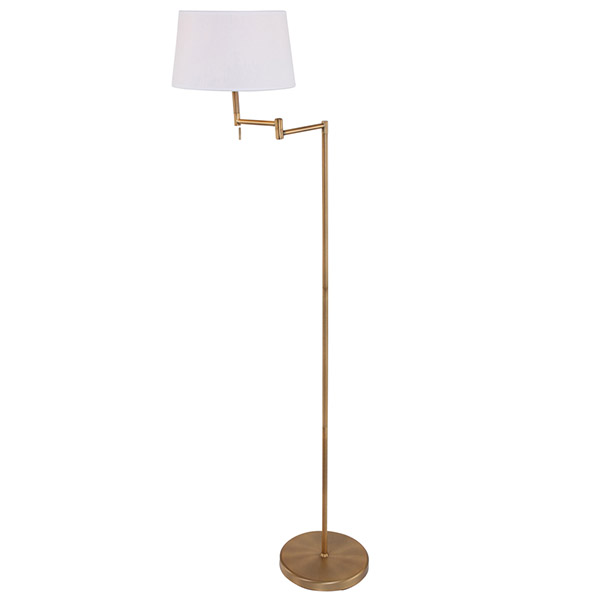 Floor Lamp with Adjustable Arm