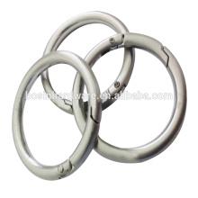 Anel da mola da prata O da forma grande da forma para sacos