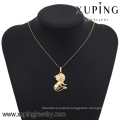 32562-18k gold plated jewelry wholesale number pendant and charms
