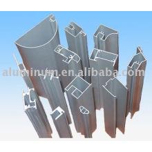 Perfil de aluminio para ventanas y puertas e industria
