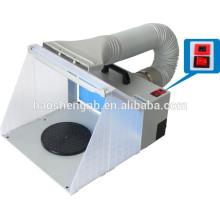 HS-E420DCLK pulvérisateur airbrush extractor mini stand