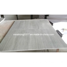 White Wood Vein, Grey Wood Vein Serpeggiant Marble Tile Sab