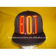 Chapeaux snapback pop hip avec logo embroidey