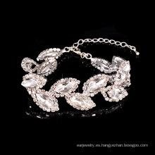 Tintineo de pulseras de Austria cristal moda para mujer