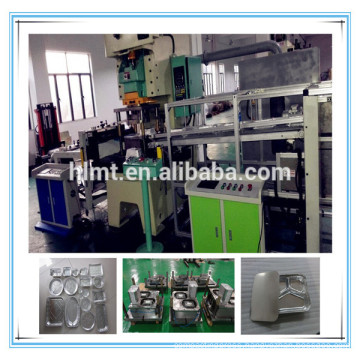 aluminium foil pan press machine 45tons with two cavity