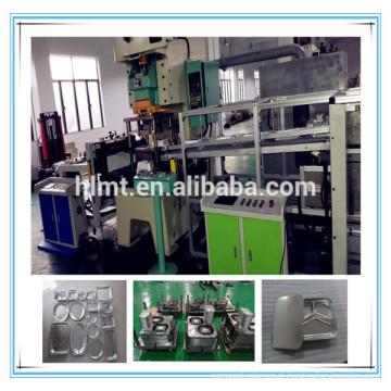 Máquina de imprensa de bandeja de folha de alumínio 45tons com cavidade dois