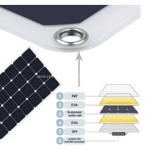 Panneau solaire flexible monocristallin