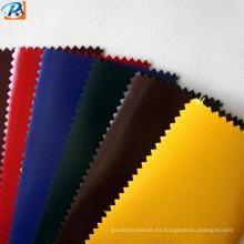 Tela protectora 100% poliéster impermeable de PVC médico