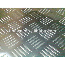 high quality and competitive price of five-bar chequered aluminium sheet