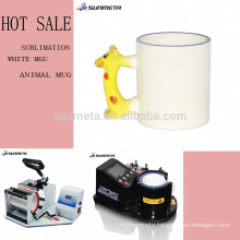 sublimation animal white mug for advertisment and pomotion gift with competitive price