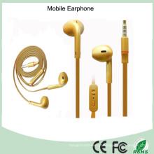 Fone de ouvido móvel de Earbus do cabo liso dos materiais do ABS (K-901)