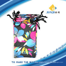 Printed Microfiber soft mobile phone bag