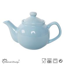 Прозрачный стеклянный простой чайный горшок