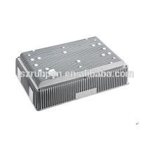 Base de radiateur de style spécial de moulage mécanique sous pression